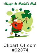 Royalty-Free (RF) Happy St Patricks Day Clipart Illustration #92374