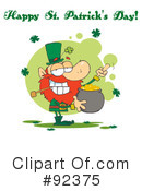 Royalty-Free (RF) Happy St Patricks Day Clipart Illustration #92375