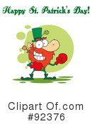 Royalty-Free (RF) Happy St Patricks Day Clipart Illustration #92376