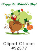 Royalty-Free (RF) Happy St Patricks Day Clipart Illustration #92377