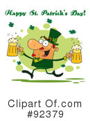 Royalty-Free (RF) Happy St Patricks Day Clipart Illustration #92379