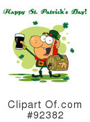 Royalty-Free (RF) Happy St Patricks Day Clipart Illustration #92382
