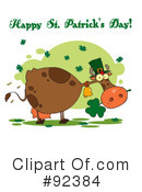 Royalty-Free (RF) Happy St Patricks Day Clipart Illustration #92384