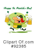 Royalty-Free (RF) Happy St Patricks Day Clipart Illustration #92385