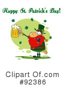 Royalty-Free (RF) Happy St Patricks Day Clipart Illustration #92386
