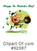 Royalty-Free (RF) Happy St Patricks Day Clipart Illustration #92387