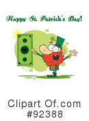 Royalty-Free (RF) Happy St Patricks Day Clipart Illustration #92388