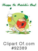 Royalty-Free (RF) happy st patricks day Clipart Illustration #92389