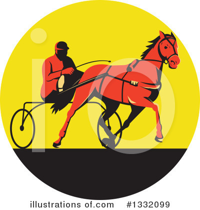 Jockey Clipart #1332099 by patrimonio