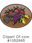 Royalty-Free (RF) Harvest Clipart Illustration #1052665