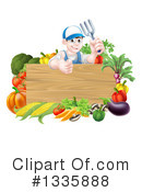 Harvest Clipart #1335888 by AtStockIllustration