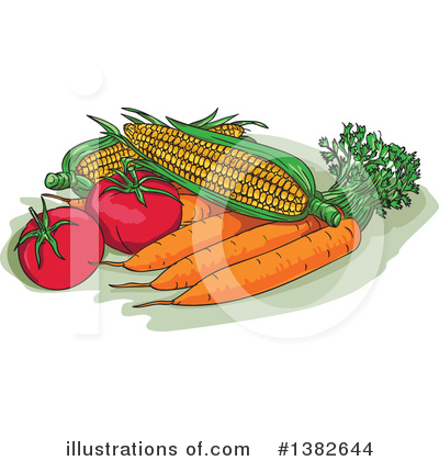 Harvest Clipart #1382644 by patrimonio