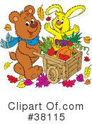 Royalty-Free (RF) Harvest Clipart Illustration #38115