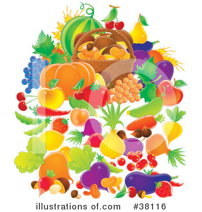 Royalty-Free (RF) Harvest Clipart Illustration by Alex Bannykh - Stock Sample #38116