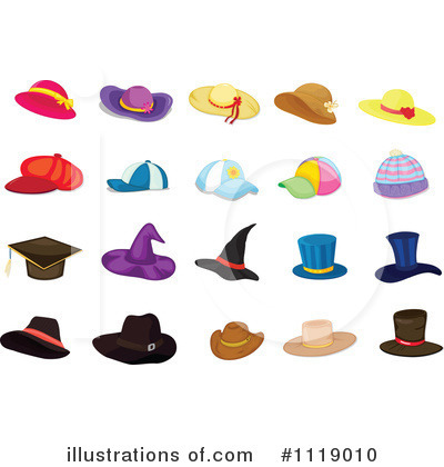 Witch Hat Clipart #1119010 by Graphics RF