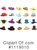 Hat Clipart #1119010 by Graphics RF