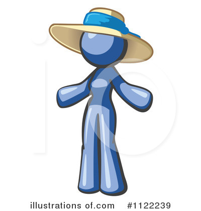 Hat Clipart #1122239 by Leo Blanchette