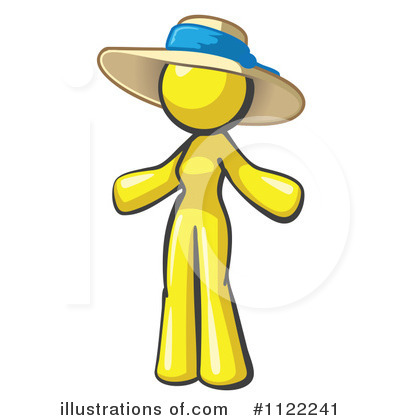 Yellow Design Mascot Clipart #1122241 by Leo Blanchette