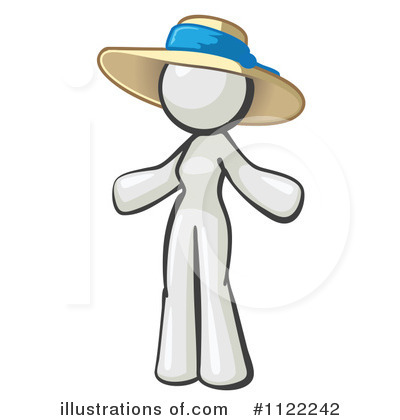 White Design Mascot Clipart #1122242 by Leo Blanchette