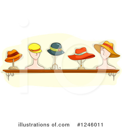 Hat Clipart #1246011 by BNP Design Studio