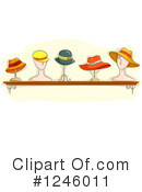 Royalty-Free (RF) Hat Clipart Illustration #1246011