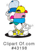 Hat Clipart #43198 by Dennis Holmes Designs