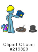 Hats Clipart #219820 by Leo Blanchette