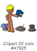 Hats Clipart #47925 by Leo Blanchette