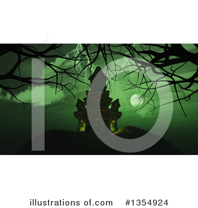 Halloween Clipart #1354924 by KJ Pargeter