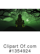 Haunted Castle Clipart #1354924