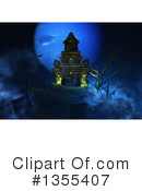 Haunted Castle Clipart #1355407 by KJ Pargeter