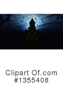 Haunted Castle Clipart #1355408 by KJ Pargeter