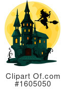 Haunted Castle Clipart #1605050 by Vector Tradition SM