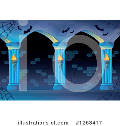 Haunted Hallway Clipart #1263417 by visekart