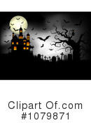 Royalty-Free (RF) Haunted House Clipart Illustration #1079871