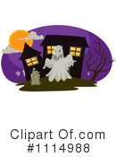Royalty-Free (RF) Haunted House Clipart Illustration #1114988