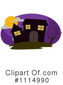 Royalty-Free (RF) Haunted House Clipart Illustration #1114990