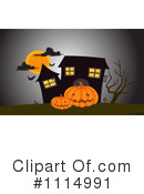 Royalty-Free (RF) Haunted House Clipart Illustration #1114991