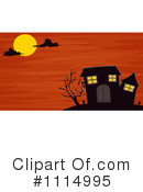 Royalty-Free (RF) Haunted House Clipart Illustration #1114995