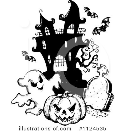 Halloween Pumpkins Clipart #1124535 by visekart