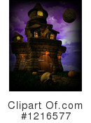 Haunted House Clipart #1216577