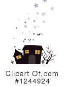 Haunted House Clipart #1244924 by Graphics RF