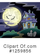 Haunted House Clipart #1259856 by visekart