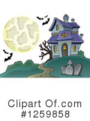 Haunted House Clipart #1259858 by visekart