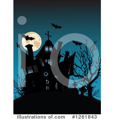 Cemetery Clipart #1261843 by Pushkin