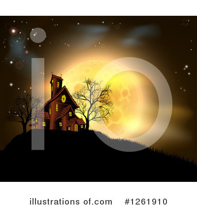 Halloween Clipart #1261910 by AtStockIllustration