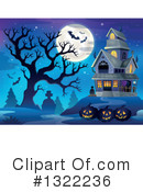 Haunted House Clipart #1322236 by visekart