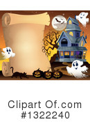 Haunted House Clipart #1322240 by visekart