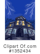 Haunted House Clipart #1352434 by BNP Design Studio