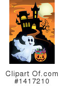 Haunted House Clipart #1417210 by visekart